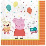 Peppa Pig Lunch Napkins, 16-pk | Amscannull