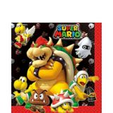 Super Mario Lunch Napkins, 16-pk | Amscannull
