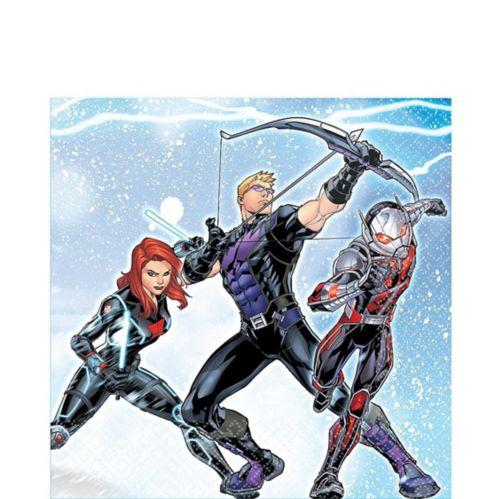 Serviettes de table Avengers, paq. 16