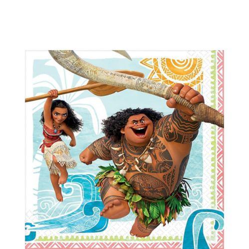 Moana Lunch Napkins, 16-pk