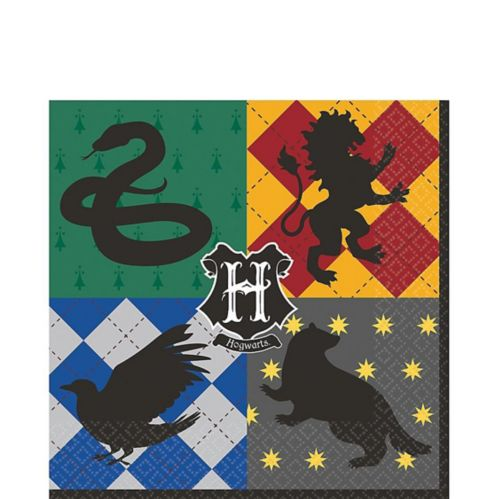 Harry Potter Lunch Napkins, 16-pk