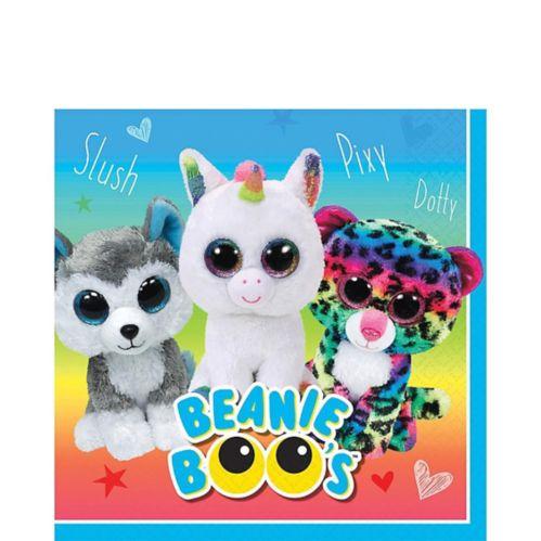 Serviettes de table Beanie Boo, paq. 16