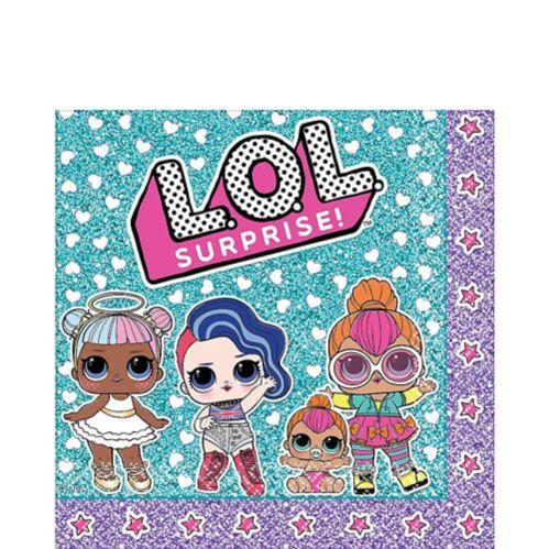 L.O.L. Surprise Lunch Napkins, 16-pk Product image
