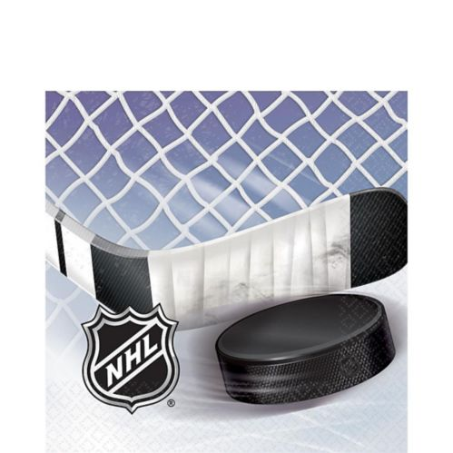 NHL Ice Time Lunch Napkins, 16-pk