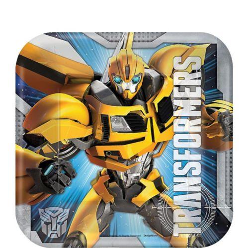 Transformers Dessert Plates, 8-pk