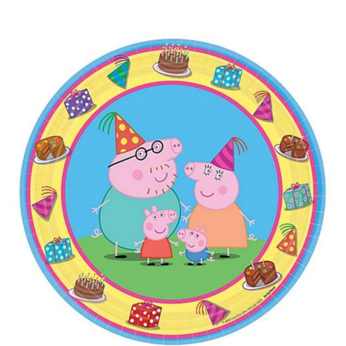 Peppa Pig Dessert Plates, 8-pk