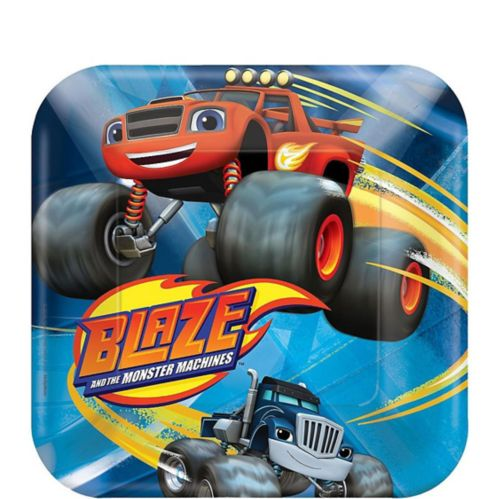 Blaze and the Monster Machines Dessert Plates, 8-pk Product image