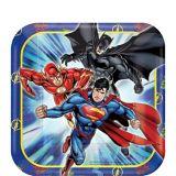 Justice League Dessert Plates, 8-pk