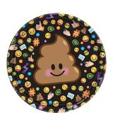 Smiley Dessert Plates, 8-pk