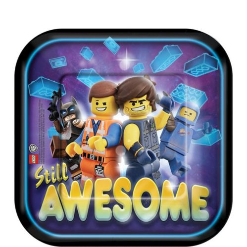 The LEGO Movie 2: The Second Part Dessert Plates, 8-pk