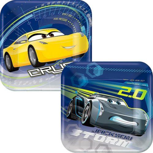 Cars 3 Dessert Plates, 8-pk