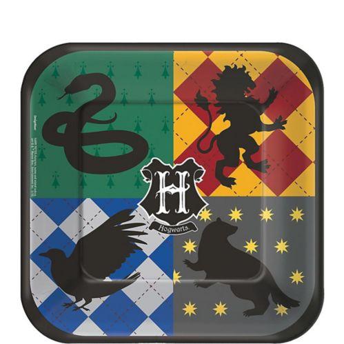 Assiettes à dessert Harry Potter, paq.8