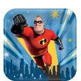 Incredibles 2 Dessert Plates, 8-pk | Disneynull