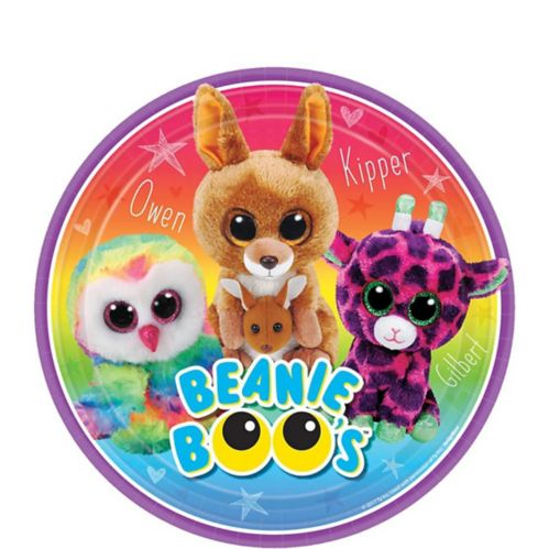 Beanie Boo's Dessert Plates, 8-pk Product image