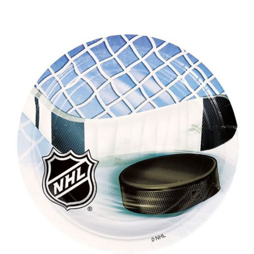 NHL Ice Time Dessert Plates, 8-pk