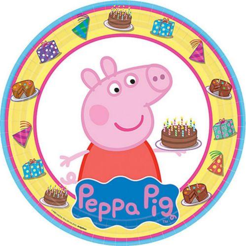 Assiettes Peppa Pig, paq. 8 Image de l'article