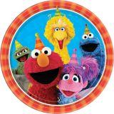 Assiettes à déjeuner Sesame Street, paq. 8