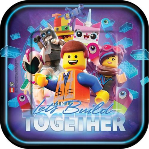The LEGO Movie 2: The Second Part Lunch Plates, 8-pk