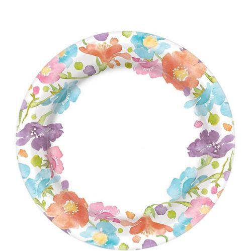 Spring Has Sprung Floral Dessert Plates, 40-pk