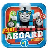Thomas the Tank Engine Lunch Plates, 8-pk