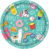 Selfie Celebration Lunch Plates, 8-pk | Amscannull