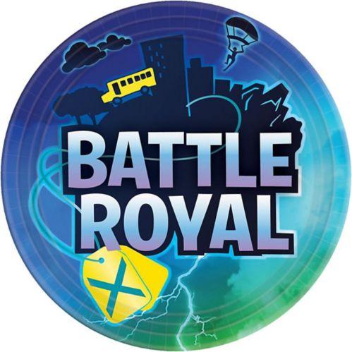 Assiettes à déjeuner Battle Royal, paq. 8