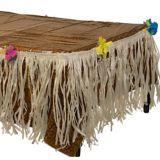Nappe et bordure de table luau