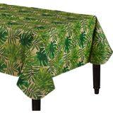 Nappe en vinyle à endos de flanelle, palmier tropical | NAnull