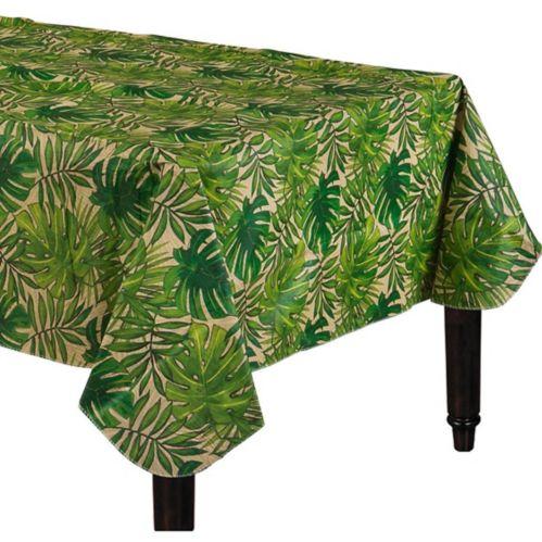 Nappe en vinyle à endos de flanelle, palmier tropical Image de l'article