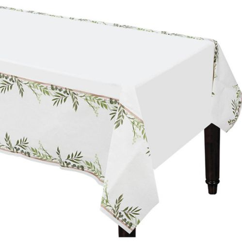 Floral Greenery Table Cover Product image