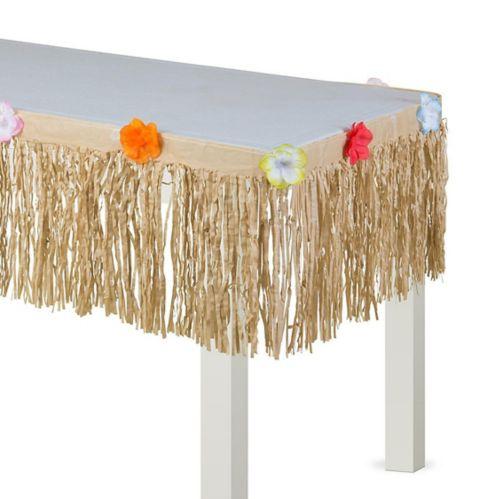 Natural Grass Table Skirt