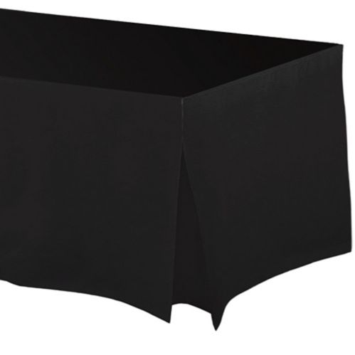 Flannel-Backed Vinyl Fitted Table Cover, 72-in Product image