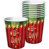 Pixelated Cups, 8-pk