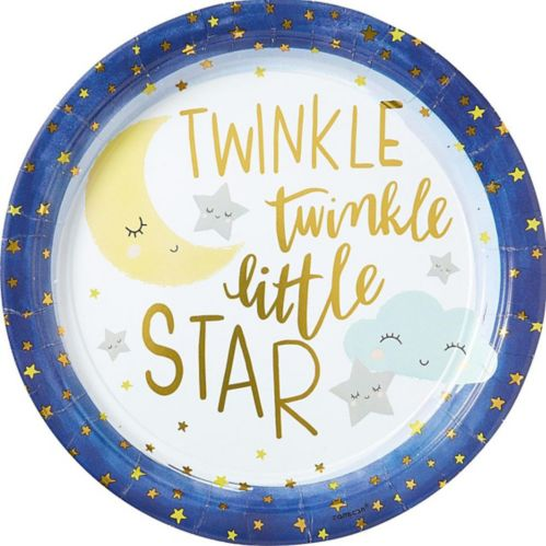 Twinkle Twinkle Little Star Dinner Plates, 8-pk Product image