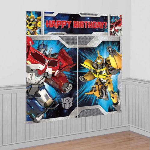 Décoration murale Transformers