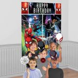 Spider-Man Webbed Wonder Scene Setter with Photo Props