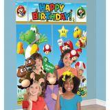 Décor mural Super Mario avec accessoires pour cabine de photo, paq. 13 | Nintendonull