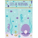 Wishful Mermaid Scene Setter with Photo Booth Props