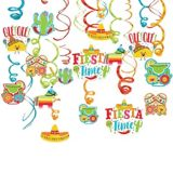 Fiesta Time Swirl Decorations, 30-pc | Amscannull