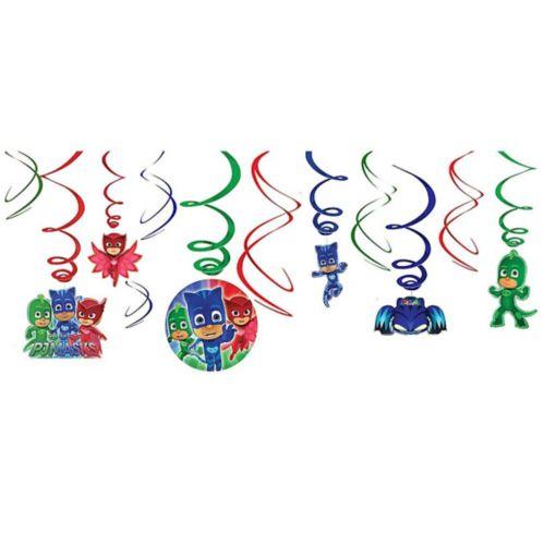 PJ Masks Swirl Decorations, 12-pc