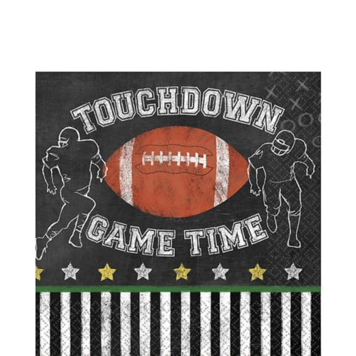 Football Game Time Lunch Napkins, 36-pk