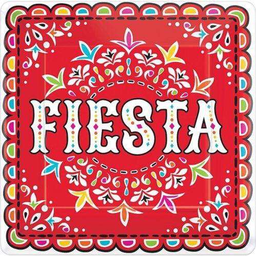 Assiettes à dîner Fiesta, paq. 18