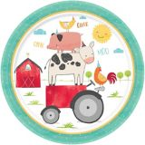 Friendly Farm Dinner Plates, 18-pk | Amscannull