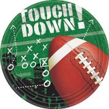 Football Frenzy Lunch Plates, 50-pk