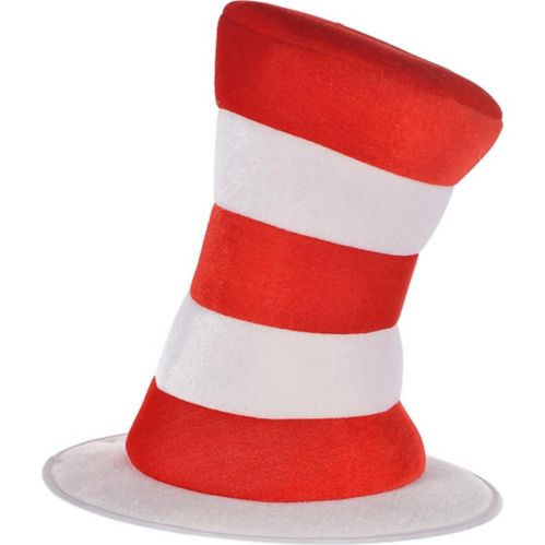 Adult Dr. Seuss Cat in the Hat Top Hat