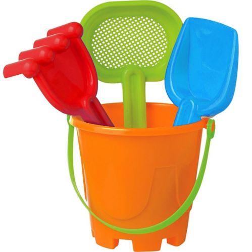 Sand Bucket Beach Toy Set, 4-pk Product image