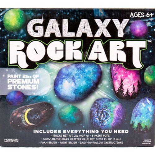 Trousse d'artisanat Galaxy Rock Art, paq. 10