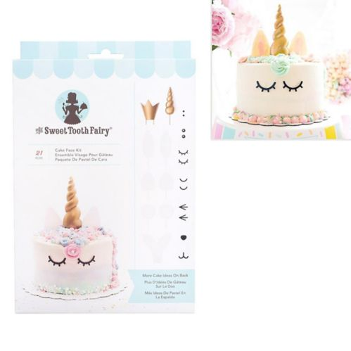 Sweet Tooth Fairy Cake Face Kit, 21-pc