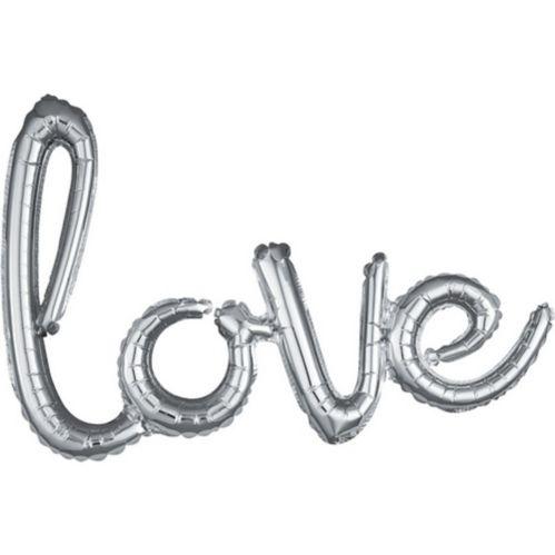 Banderole de ballons de lettres gonflables Love Image de l'article