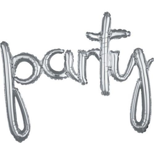 Banderole de ballons de lettres gonflables Party Image de l'article